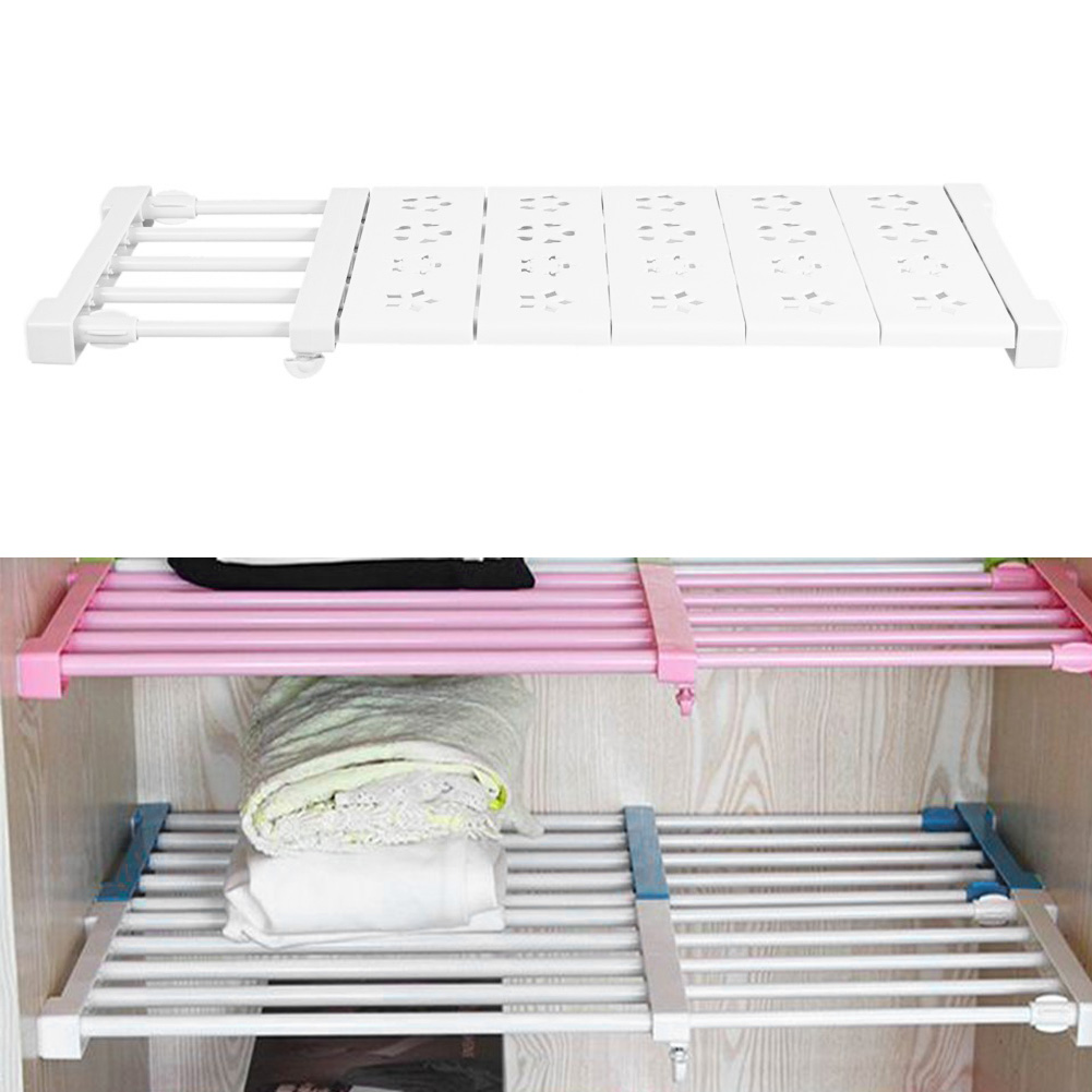 Multifunction Storage Rack Adjustable Storage Rack Shelf Divider for Kithchen Cupboard Wardrobe Bookcase Compartment Collecting