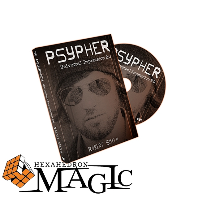 Psypher  Robert Smith and Paper Crane Productions  /close-up stage card magic trick / wholesale / free shipping