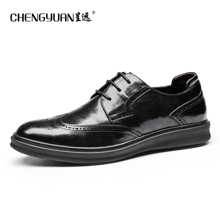 Men genuine leather shoes mens business  black men party wedding dress shoe lace up Leather Shoes C9600 top quality crocodile grain black oxfords mens dress shoes genuine leather business shoes mens formal wedding shoes