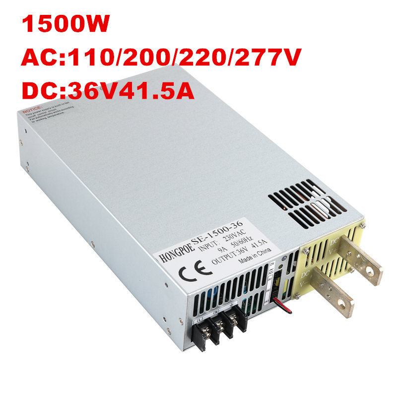 switching power supply 5V 12V 13.5V 15V 24V 27V 30V 36V 48V 60V 68V 72V 110V 150V 200V 250V 300V 1500w ac to dc power supply 1500w 36v dc adjustable switching power supply 0 36v 41 6a 1500w 110v 220v ac to dc 36v switching power supply