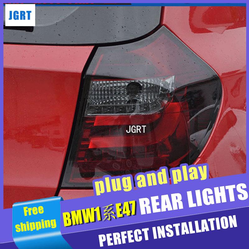 car styling For BMW E87/E81 120 130 taillights 04-11 for E87/E81 120 130 rear lights dedicated car light led taillight assembly защитные аксессуары car pakistan bmw alpina