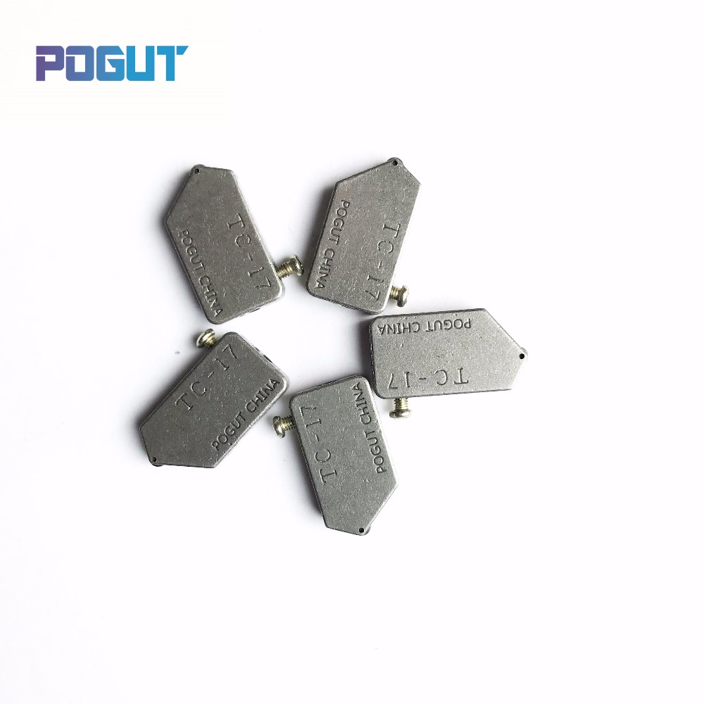 Free Shipping 3-10mm POGUT CHINA Replacement TC-17 Glass Tile Cutter Head Toyo Type 5pcs/lot