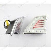 Drl自動車部品フォグランプ白色ledデイタイムランニングライト用t/oyota v/igo 2012-2015