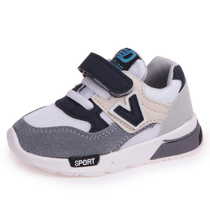 MHYONS Children Sneakers Soft Comfortable Toddler Kids Boys Girls Air Mesh Running Sports Shoes Lightweight Outdoor School Shoes