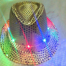 Bright LED Crown Fashion Party Jewelry for Men and Women Special Carnival Bijoux 4 Color Available(China)