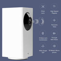 Xiaomi Mijia IP Cameras Dafang Smart Monitor 110 Degree 1080p HD Intelligent Security Night Vision WIFI For Mi Home App
