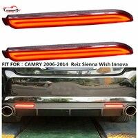 Citycarauto Rear Tail Lamp REAR Braket Lights Warning Lights For CAMRY Reiz Sienna Wish Innova LED