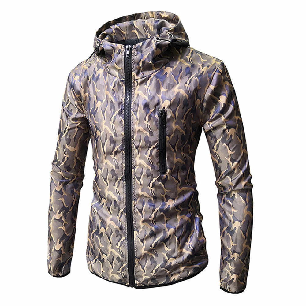 89db63a0128 Men long sleeve camouflage printed hooded sweatshirt top tee outwear blouse  supreme hoodie kanye west sweatshirt