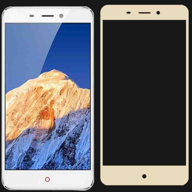 2PCS 3D  Tempered Glass For ZTE Nubia N1 Full screen Cover Explosion proof Screen Protector Film For NX541J 5.5 inch