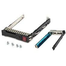Wholesale 2pcs 2.5 Inch SAS SATA Hard Disk Drive Tray Caddy Sled ProLiant For HP Gen8 G8 G9 DL380 ML310e SL250s 651687-001