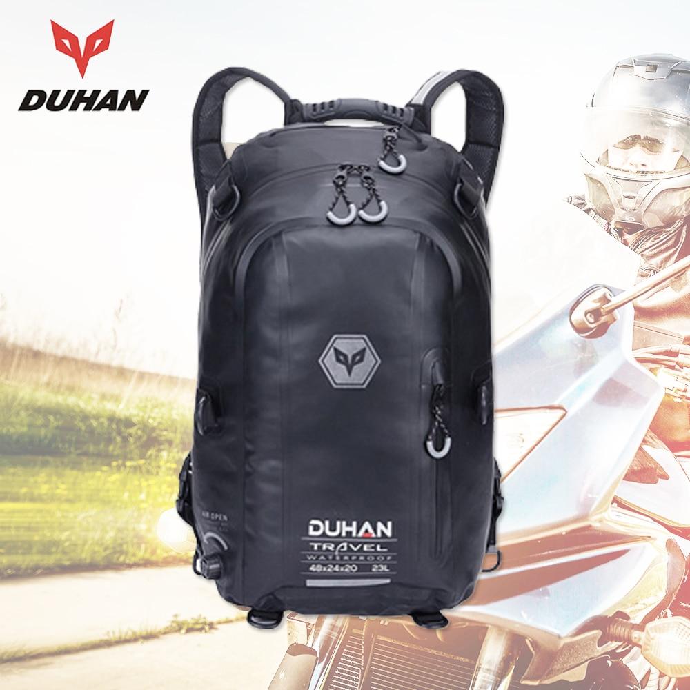DUHAN Motorfiets Tas Zwart Waterdichte Rugzak Moto Bag Motorfiets - Motoraccessoires en onderdelen - Foto 1