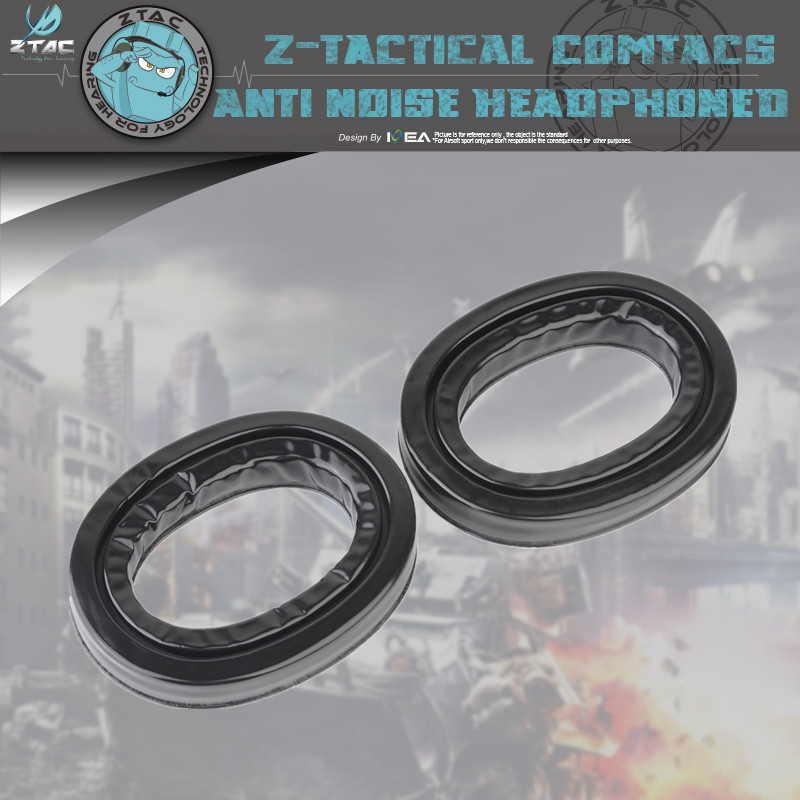 Z-tactical Black Silicone Earmuff Headset  Accessories For Peltor Series Headset Z006