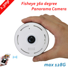 960P IP Camera Fisheye Panorama 1.3MP Lens IR Night Vision HD Security CCTV Camera 360 Degree View P2P max 128G 2way voice