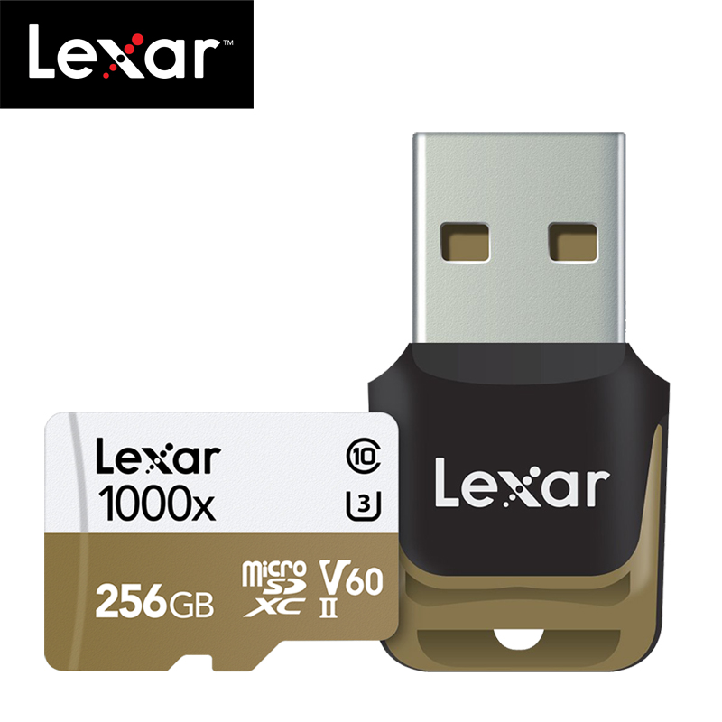 Image 2 - Original Lexar 150MB/s 1000x Micro SD 32GB Class 10 64GB micro SDXC 128GB tf Memory Card Reader UHS for Drone Sport Camcorder-in Micro SD Cards from Computer & Office