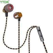 YTOM Plextone X36M earphones Magnetic deep Bass Earphone Stereo 3.5mm Fone de ouvido In Ear headset with MIC for xiaomi iphone