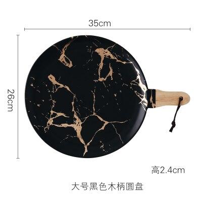 35cm Black Plate