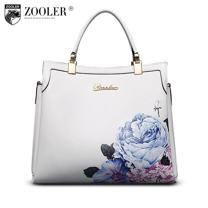 Marque 2019 chaude en cuir véritable sac ZOOLER doux en cuir véritable dames sacs à main fourre-tout sac à bandoulière de luxe sacs bolso mujer #10105