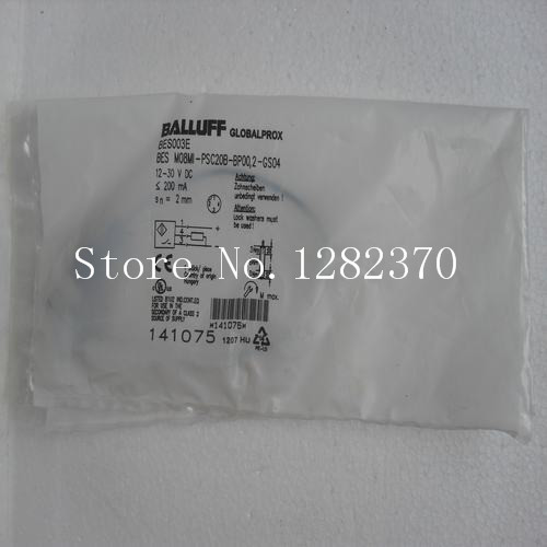 New original authentic BALLUFF sensor BES M08MI-PSC20B-BP00,2-GS04 Spot new original authentic balluff sensor bes m08mi psc40b s49g spot 2pcs lot