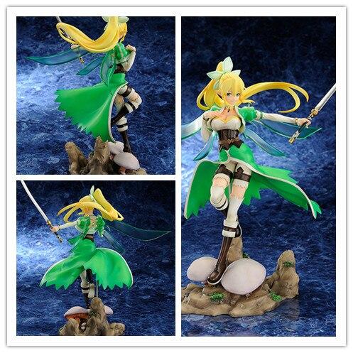 ФОТО Anime Sword Art Online Fairy Dance Leafa 1/8 PVC Action Figure Collectible Toy 10