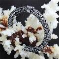 Top Selling  Fleur De Lis Unisex Bracelet 316L Stainless Steel Cool  Punk Style Fashion Flower Bracelet Bangle