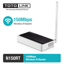 TOTOLINK Wireless Router Wifi Reapter 150Mbps 2.4GHz Router with External Antenna Support IPTV VLAN N150RT