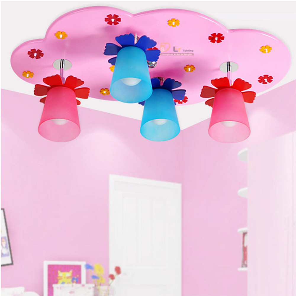 Kids bedroom ceiling lights - Lighting Bedrooms Led Chandeliers Ceiling Kids Acrylic Lustre Lighting Rainbow 110v 220v E27 Wood Led