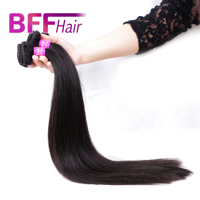 BFF Hair Products Malaysian Virgin Hair Straight 8A Mink Malasian Virgin Hair Wholesale Rosa Human Hair Weave 3 bundles/Lot