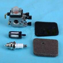Hohe qualität Vergaser Carb Pre/Air Kraftstofffilter Für STIHL FS75 FS80 FS85 HS75 HS80 HS85 BG72 BG75 KM85