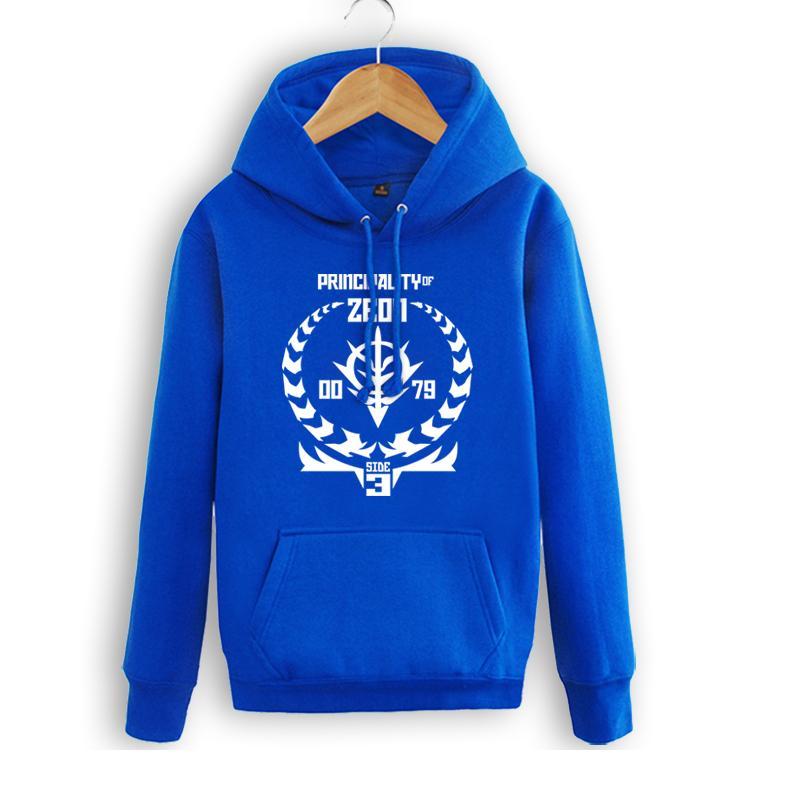 High-Q Unisex EVA Neon Genesis Evangelion pullover hoodie ZEON SIDE jacket Hoodies Sweatshirts EVA ZEON SIDE Hoodies coat