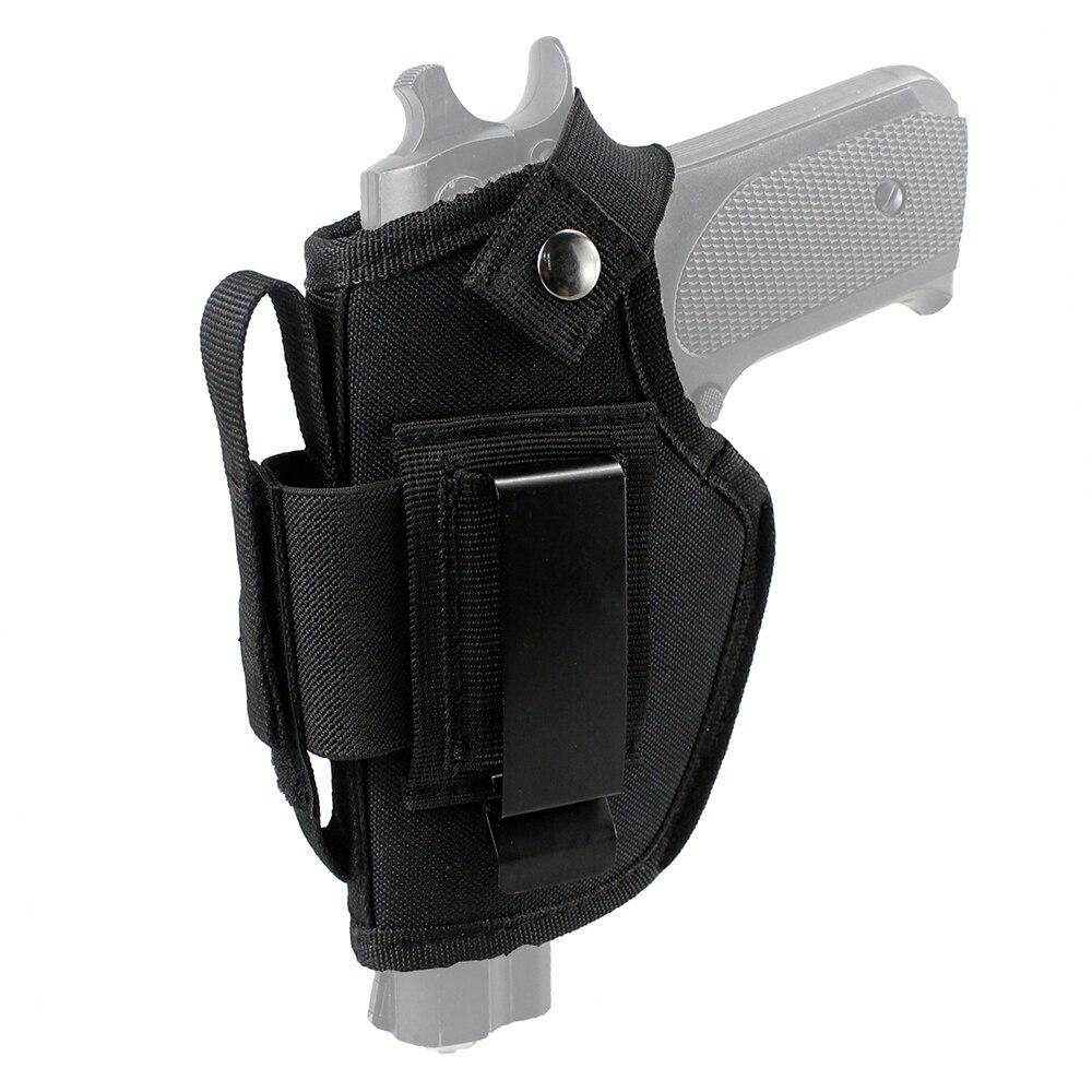 Pistola táctica oculta funda Carry PDI OWB pistolera con ranura de la revista intercambiables y Clip de Metal