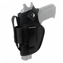 Tactical Gun Holster Concealed Carry Holster IWB OWB Holster with Magazine Slot and Interchangeable Metal Clip все цены