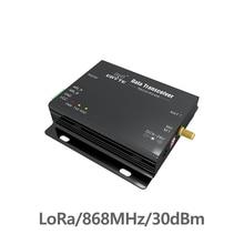 SX1276 RS485 RS232 868 МГц TCXO LoRa E32-DTU-868L30 радиус действия rf приемопередатчик uhf RF модуль DTU беспроводной передатчик приемник