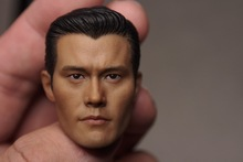 1/6 scale figure doll head for 12″ action figure doll accessories.The Terminator T1000 Lee Byung hun head shape.figure doll head