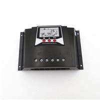 60A PWM Solar Charger controller Charger Regulators 60AMPS 12V 24V Auto Backlight LiFePO4 lithium Battery 3.2V 3.7V