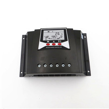 60A PWM ładowarka solarna ładowarka do pada organy regulacyjne 60 amperów 12V 24V automatyczne podświetlenie LiFePO4 bateria litowa 3.2V 3.7V