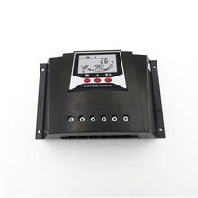 60A PWM güneş enerjisi şarj cihazı denetleyici şarj regülatörleri 60 amp 12V 24V otomatik arka ışık LiFePO4 lityum pil 3.2V 3.7V
