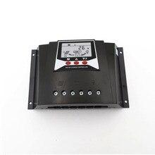 60A PWM regolatore di Carica Solare Regolatori di Carica 60AMPS 12V 24V Auto Retroilluminazione LiFePO4 Batteria al litio 3.2V 3.7V