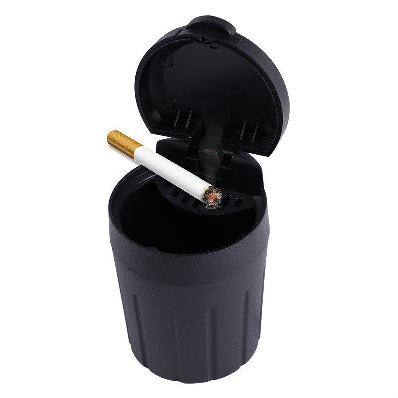 Mini Car Trash Bin Black Portable Auto Seat Organizer Waste Bin Garbag Cup Dust Rubbish Box Container Interior Accessories