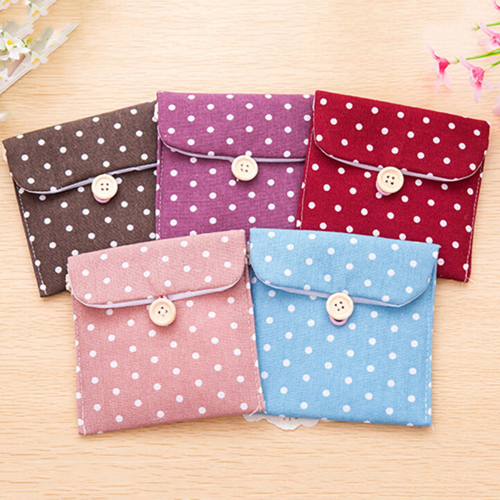 Bag Pouch Package Sanitary-Napkins Small Case Girls 1PC Hygiene Female High-Quality