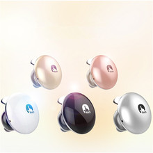 2016 M Bean Wireless Bluetooth 4.1 Smart Touch Portable Ultra Mini Earphones Noise Cancelling Headphone Stereo Headsets with Mic