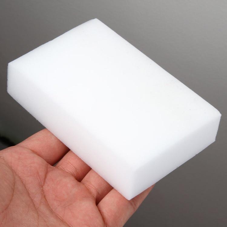 10PC* Melamine Sponge White Magic Sponge Eraser Melamine Cleaner Multi-Functional Eco-Friendly Kitchen Magic Eraser 100*60*20mm