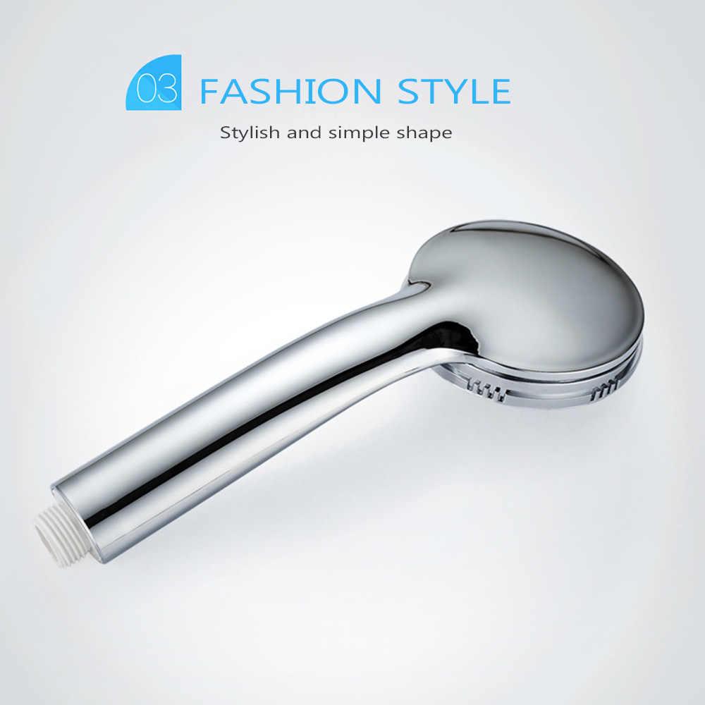 Anpro ハンドヘルドシャワーヘッド高圧 300 穴加圧節水シャワーヘッド浴室の風呂噴霧器ハンド水ブースター