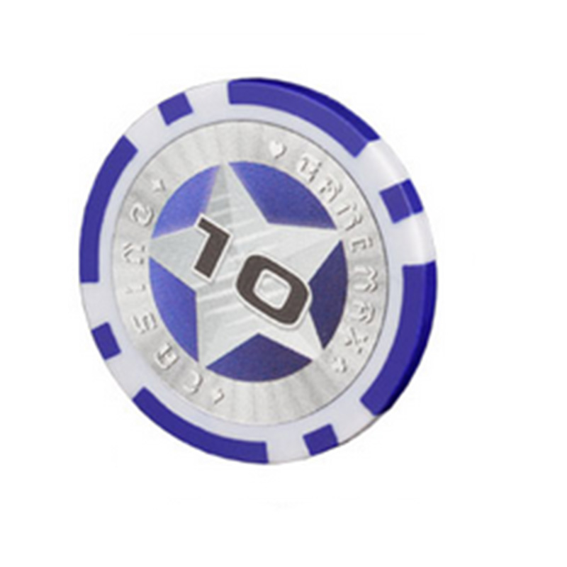 20 PCS/LOT Poker Chips 11.5g Iron/ABS Refractive Cheap ...