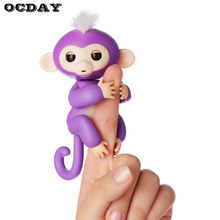 OCDAY Finger Monkey Toys Fingerlings Smart Induction fantoche de dedo Funny Action Finger puppet Hand Toys for Children Gift