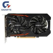 GIGABYTE GPU GTX 1050Ti 4GB tarjeta de vídeo 128Bit tarjetas gráficas GTX1050Ti para nVIDIA Geforce GTX1050 Hdmi Dvi VGA y tarjetas PCI 3,0