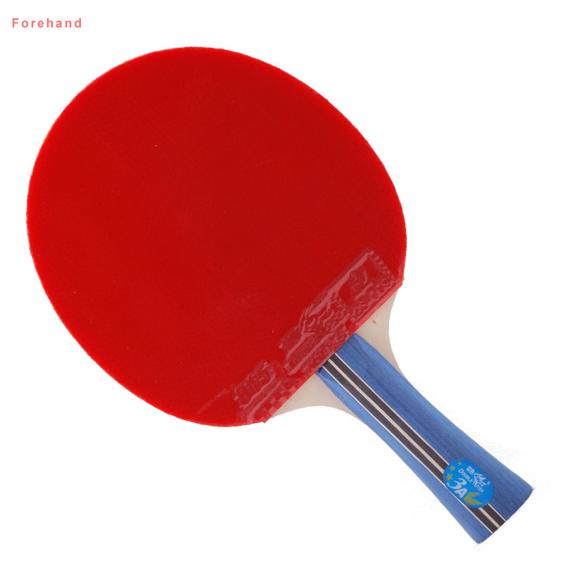 Original Double fish 3star table tennis racket bat pingpong paddle fast attack loop for beginner players  two sides with rubbers
