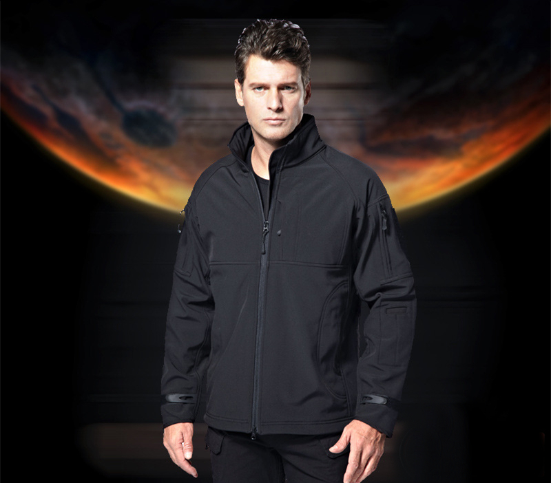 TAD V5.0 Upgraded Mens Softshell Windbreaker Waterproof Shark Skin Soft Shell Fleece Jacket / Coat 2016 high quality alpha n 3b mens shark softshell jacket tad outdoor male warm waterproof man fleece jackets outerwear