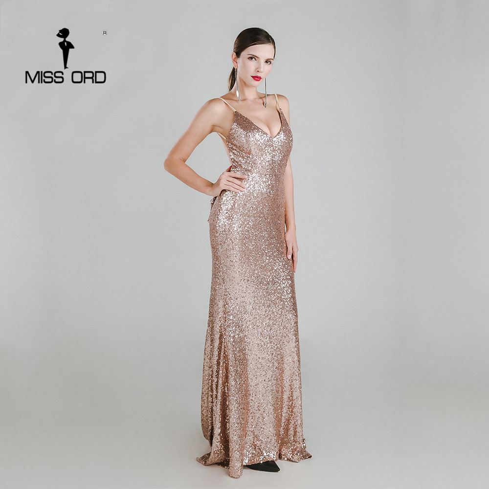 2dc98d486e Missord 2017 Sexy halter Bow V neck party dress sequin maxi dress FT3995-in  Dresses from Women's Clothing & Accessories on Aliexpress.com | Alibaba ...