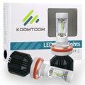 2 UNIDS H15 Faros LED para el Coche Bombilla de Luz Blanca 6500 K Decretos Del Grano 72 W 4000LM LLEVÓ La Linterna Kit H15