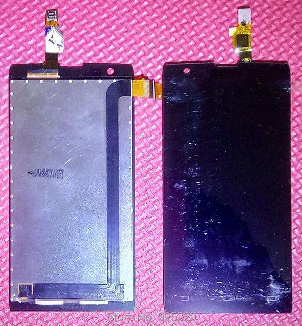 Número de rastreamento, Original display LCD + montagem da tela de toque para a Philips W6500 Celular para Xenium CTW6500 telefone móvel